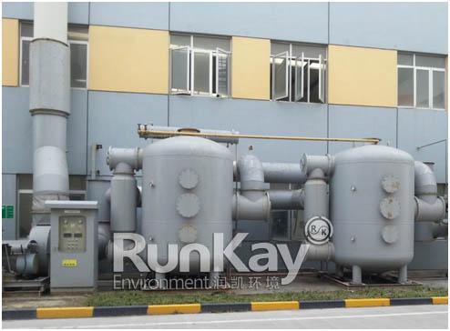 油漆厂废气处理